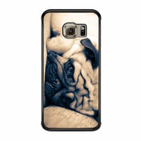 Cute Adorable Pug Samsung Galaxy S6 Edge Case