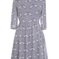 Bewitching Unicorns Babydoll Dress