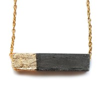 Rectangle Concrete Necklace