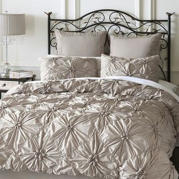 Savannah Bedding & Duvet - Dove