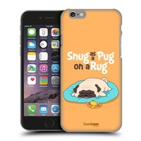 Head Case Designs Snug Piper The Pug Protective Snap-on Hard Back Case Cover for Apple iPhone 6 4.7