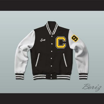 Scott Murphy Coldwater Black Bears High School Varsity Letterman Jacket-Style Sweatshirt Touchback