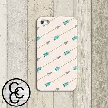 Simple Yet Chic Arrows Custom iPhone Case for iPhone 4 and 4s and iPhone 5 and 5s Case