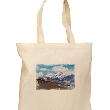 Pikes Peak Grocery Tote Bag