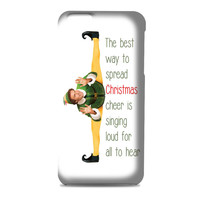 Funny Christmas Elf Movie Quotes movie 3D Iphone | 4s | 5s | 5c | 6s | 6s Plus | Case