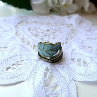 Retro Leaf Ring - Retro, Indie and Unique Fashion