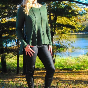 Buttoned Jegging