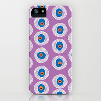 Evil Eye Charm - Good Luck Charm - Radiant Orchid (purple)  iPhone 4, 4s, 5, 5s, 5c & Samsung Galaxy s3, s4 and iPod Case by alterEGO