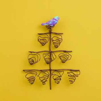 Hanging Tree with Bird Plant Holder - BACK IN STOCK / AUGUST
