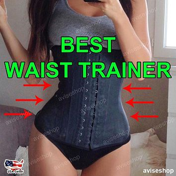 Waist Trainer Slimming Shapewear Training Corsets Cincher Body Shaper Workout Belt