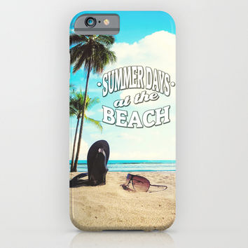 Summer Days iPhone & iPod Case by Nicklas Gustafsson