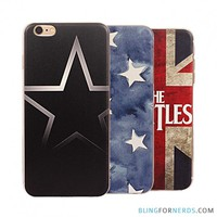 Stars Soft Back Cover - iPhone 6 Case