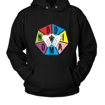 DCCKL83 Diamond Triangle Hoodie Two Sided