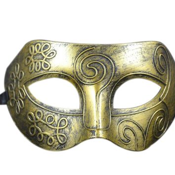 Plastic Retro Venetian Masquerade Halloween Party Mask Facial Masquerade carnival dress up mask supply