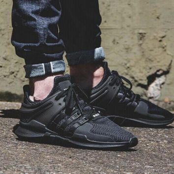 Adidas Men S Equipment Eqt Support Adv Black Casual Sports Shoes