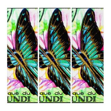 Butterfly Papilio Bromius Triptych
