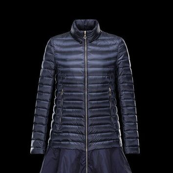 Moncler Down-Quilted Bogue Coat