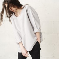 JOINERY - Tubular Collar Sweatshirt by Revisited - WOMEN
