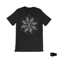 nu goth, goth clothing, soft grunge, occult art, gothic shirt, abstract art, grunge shirt, surreal art, esoteric art | Hydra I Am