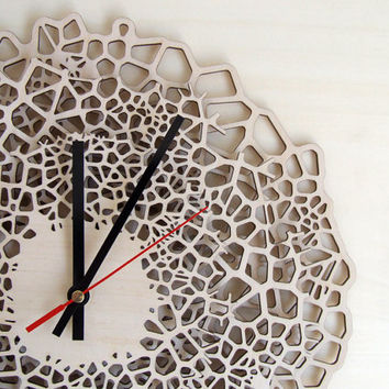 Big Giraffe clock - large wall clock