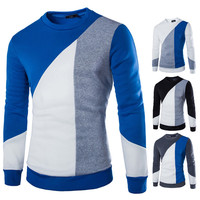 Color Block Men's Sweat Shirt
