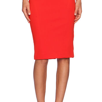 Cameo Metal & Dust Skirt in Orange
