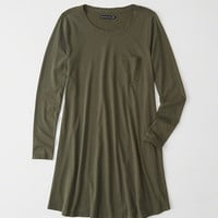 Womens Knit Swing Dress | Womens New Arrivals | Abercrombie.com