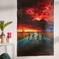 Stranger Things Season One Poster | Urban Outfitters
