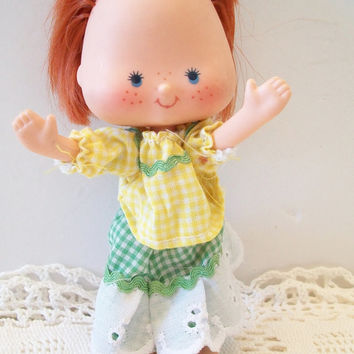 Vintage Strawberry Shortcake Doll 1979 Hong Kong