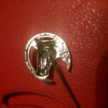 Horse Stick Pin Beau Sterling silver