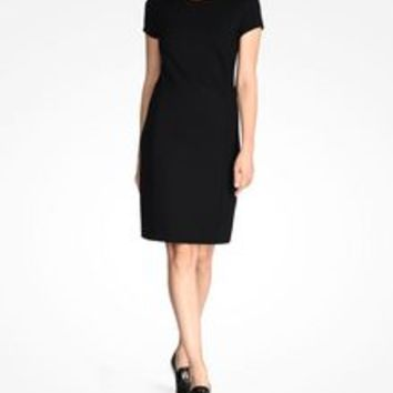 Armani Exchange SHORT SLEEVE SHEATH DRESS, Mini Dress for Women - A|X Online Store