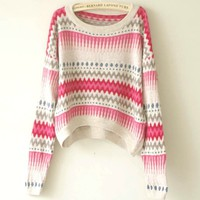A 091002 Angora sweater loose