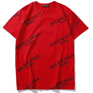 6007896ea162 Balenciaga Woman Men Fashion Casual Sports Shirt Top Tee