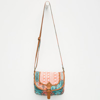 Twice As Nice Crochet Crossbody Bag | Handbags