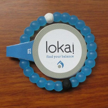 Limited Blue Lokai Bracelet Mud From Dead Sea Water From Mt. Everest M,L,S