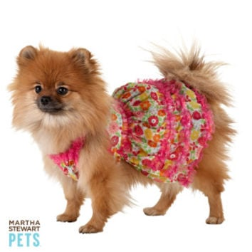 Martha Stewart Pets® Floral Ruffle Dress