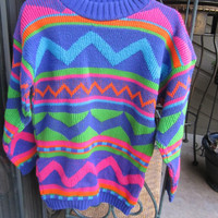 NEON Bright sweater
