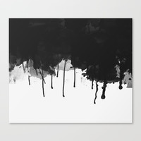 Spilled Ink Canvas Print by All Is One