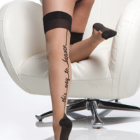 THIS WAY TO HEAVEN STOCKINGS