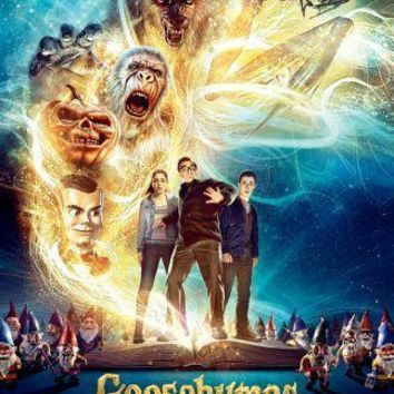 Goosebumps movie poster Sign 8in x 12in