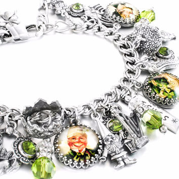 King of the Leprechaun Charm Bracelet