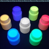 Body Paint - Glow In The Dark Body Paint (Set of 4) #656