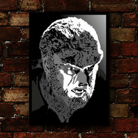 Wolf Man Alternative Movie Poster