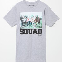 PacSun Squad Up T-Shirt - Mens Tee - Grey
