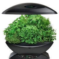 Miracle-Gro AeroGarden 7 Indoor Garden with Gourmet Herb Seed Kit, Black