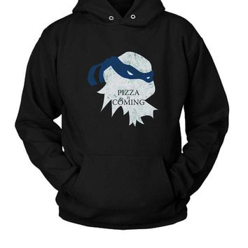 DCCKL83 Pizza Is Coming Hoodie Two Sided
