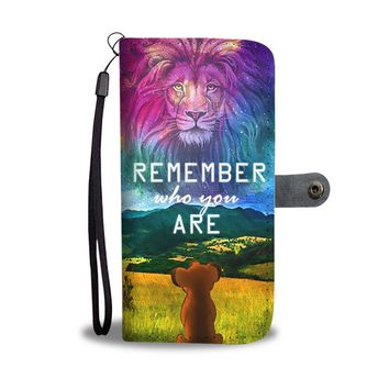 Remember Who You Are The Lion King Wallet Phone Case