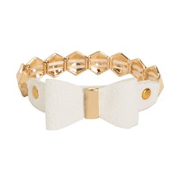 Bow Stretch Bracelet - Aeropostale
