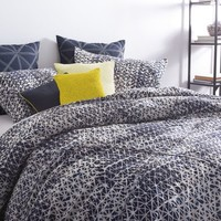 DKNY Gridlock Comforter Set in Navy