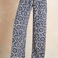 J.Lindeberg Mara Silk Trousers, Navy